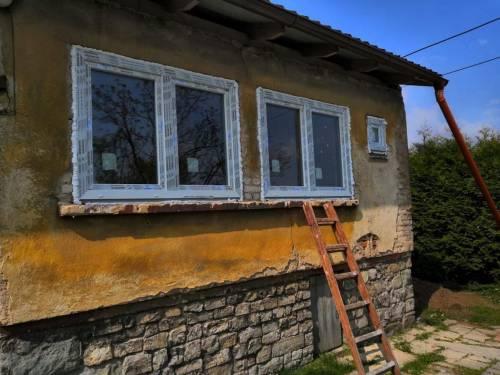 Rekonstrukce rodinného domu v Paskově, okr. Frýdek - Místek - plastové okna