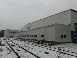 Plastová okna - průmyslová hala - Ostrava