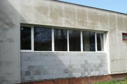Plastová okna a hliníkové vchodové dveře do výrobní haly - Frýdlant nad Ostravicí