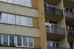 Plastová okna a balkonová sestava, byt ve  Frýdku - Místku