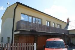 Plastová okna, balkonová sestava - RD - Lichnov - okr. Nový Jičín
