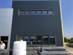 Plastová okna výrobní hala - Olomouc - Holice