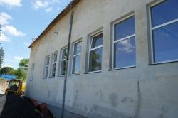 Sestavy plastových oken - skladová hala - Bruntál