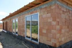 Plastové okna a vchodové dveře s nadsvětlíkem - novostavba - Sviadnov okr. Frýdek - Místek