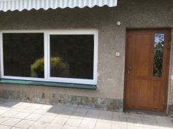 Plastová okna, posuvné okno, hliníkové dveře - rodinný dům - Staříč
