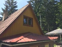 Plastové okna a terasové dveře - chata - Ostravice, okr. Frýdek - Místek