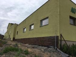 Sestavy plastových oken - skladová hala - 2.etapa - Bruntál
