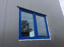 Plastová okna a hliníkové vchodové dveře - výrobní hala - Hlučín