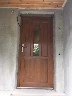 Vchodové dveře plastové - rodinný dům - Frýdek - Místek, Lysůvky