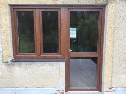 Plastové okna - rodinný dům - Metylovice