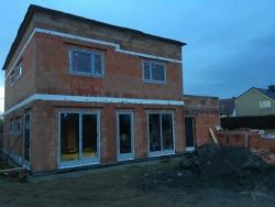 Novostavba Štěpánkovice, okr. Opava - plastová okna