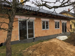 Novostavba Mokré Lazce, okr. Opava - plastová okna
