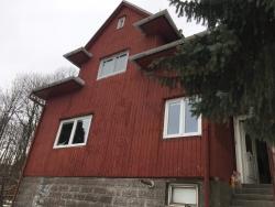 Plastová okna a vchodové dveře - RD - Janovice