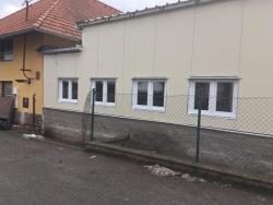 Skladová hala - plastová okna a vstupní dveře - Libuň okr. Jičín