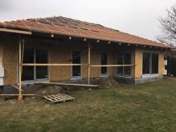 Novostavba Frýdlant n.O. - plastová okna, HS portál