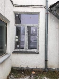 Plastové okno - výrobní hala Raškovice