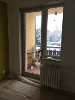 Balkonové sestavy, plastová okna - RD - Frýdlant n.O.