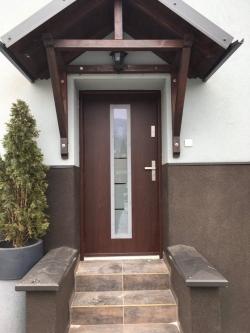 Domovní dveře - rodinný dům - Čeladná