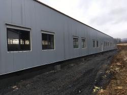 Plastová okna - výrobní hala - Odry