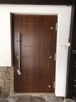 Domovní dveře - rodinný dům - Nová Ves
