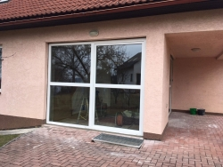 Výklopně posuvné terasové dveře 2 ks - rodinný dům - Brušperk
