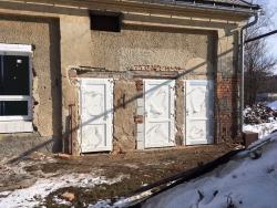 Plastová okna a vchodové dveře - skladovací hala - Rýmařov