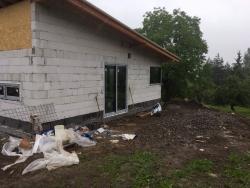 Novostavba RD - plastové okna, domovní dveře - Dolní Žukov