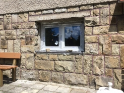 Zděná chata Ostravice - výměna za plastové okna