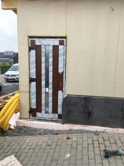 Plastové okno a 2 x vstupní dveře do garáže - Vlčnov, Starý Jičín