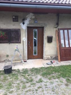 Plastová okna a vchodové dveře - RD - Těškovice, okr. Opava