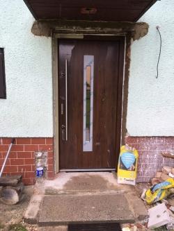 Domovní dveře - rodinný dům - Dobrá, okr. Frýdek - Místek