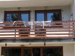 Balkonové sestavy, plastová okna - rodinný dům - Ostrava