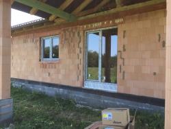 Plastová okna, posuvné dveře - novostavba - Střítež, okr. Frýdek - Místek