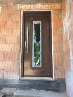 RD Zelinkovice, okr. Frýdek - Místek - HS portál, plastová okna, domovní dveře