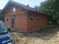 Novostavba Palkovice, okr. Frýdek - Místek - plastová okna, domovní dveře