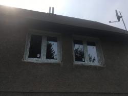 Chata Ostravice, okr. Frýdek - Místek - plastová okna, venkovní parapety