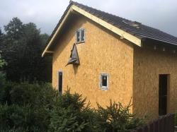 Novostavba Čeladná - plastová okna, posuvné dveře