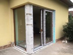 Rodinný dům Brušperk, okres Frýdek - Místek - HS portál a fixní okno