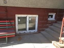 Domovní dveře Hörmann, plastová okna - RD Václavovice
