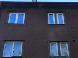 Výměna plastových oken - byt Frýdek - Místek, ul. Vrchlického
