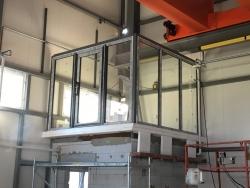 Výrobní hala Bruntál - plastová okna