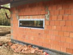 Novostavba Měrkovice okr. Frýdek - Místek - plastové okna, balkonové dveře, domovní dveře