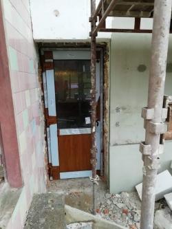 Hliníkové vstupní dveře 2 ks - Frýdek - Místek