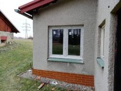 Plastová okna - rekonstrukce Pstruží