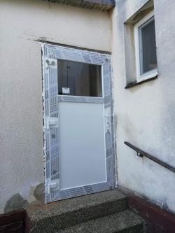 Výrobní hala Suché Lazce - 3 ks hliníkových dveří