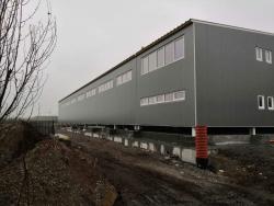 Zemědělské družstvo Holasovice - výrobní hala - plastová okna