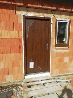 Domovní dveře - novostavba Lískovec, okr. Frýdek - Místek