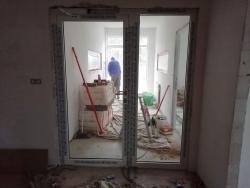 Komerční objekt Chotěboř - hliníkové dveře, hliníkové okno