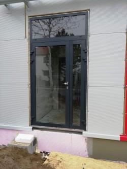 Hliníkové dveře - Šicí dílna Opava