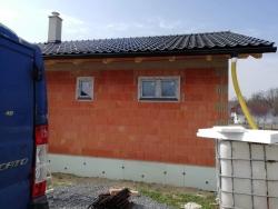 Rodinný dům - novostavba - Nošovice, okr. Frýdek - Místek - plastová okna, HS portál